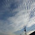 巻積雲の波状雲