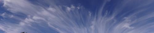 ワイドな雲