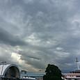 広い空の雲はきれい