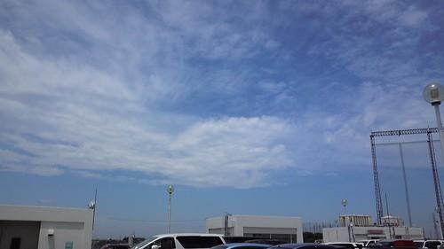 風を感じる雲