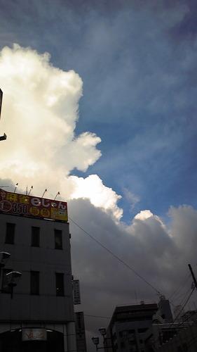 台風がやってくる
