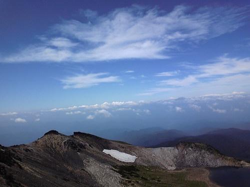 乗鞍の雲④~山頂から~
