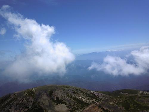 乗鞍の雲⑤