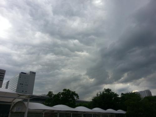 もうすぐ雨