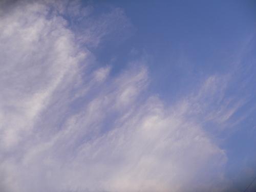 入道雲のおしまい