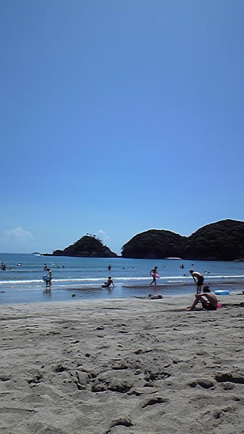 快晴!夏の海